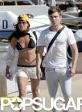 Michelle Rodriguez rocked a bikini while hanging out with Zac Efron in Italy on Tuesday.