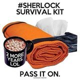 """GRAB YOUR HIATUS SURVIVAL KITS"" Source: Twitter user Timelordswife"
