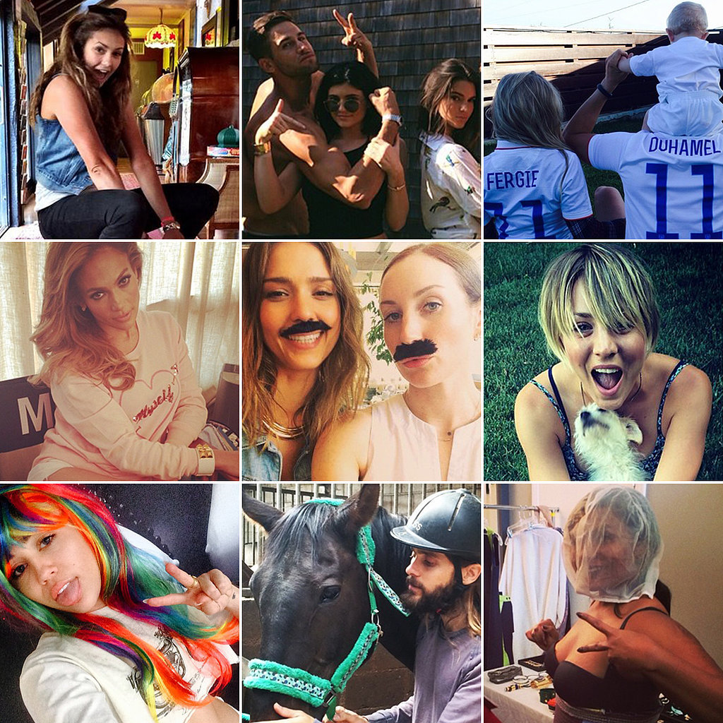 This Week's Fun Celebrity Candids Are a Mix of Goofy and Sexy