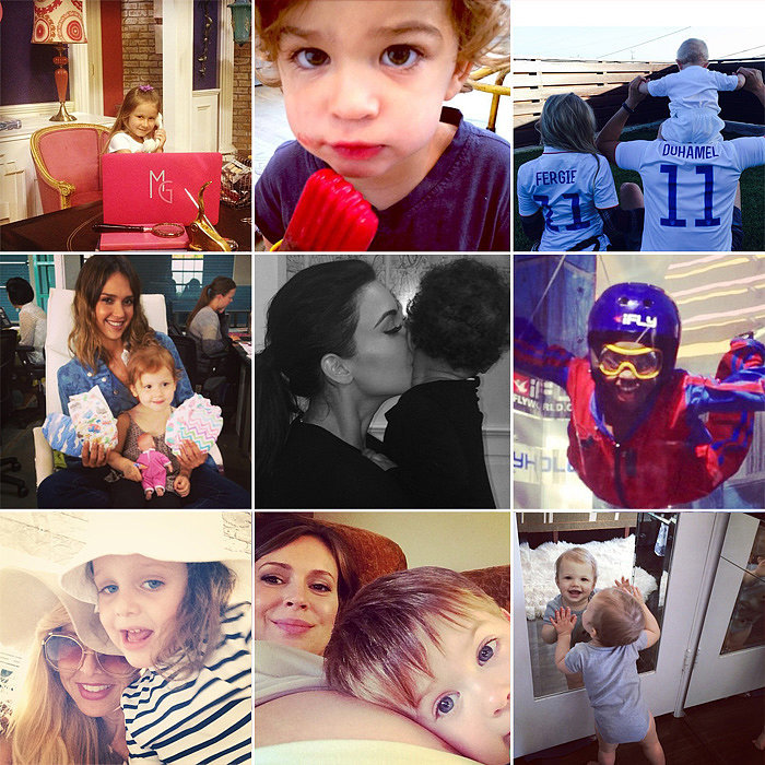 Kim, Beyoncé, Molly, and More Celeb Parents Shared Some Sweet Snaps of Their Tots This Week!