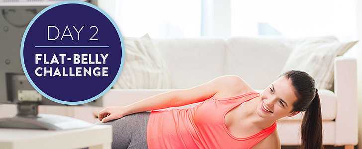 Flat-Belly Challenge Day 2: Plenty of Planks Plus a Make-Ahead Breakfast
