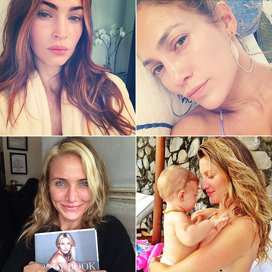 23 Stars Who Dare to Bare Their Makeup-Free Skin
