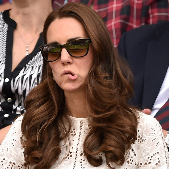 Funny Cute Pictures Of Kate Middleton Pulling Faces