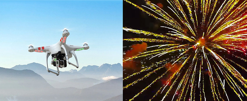 A Drone Flew Into a Fireworks Explosion, and the Video Is Breathtaking
