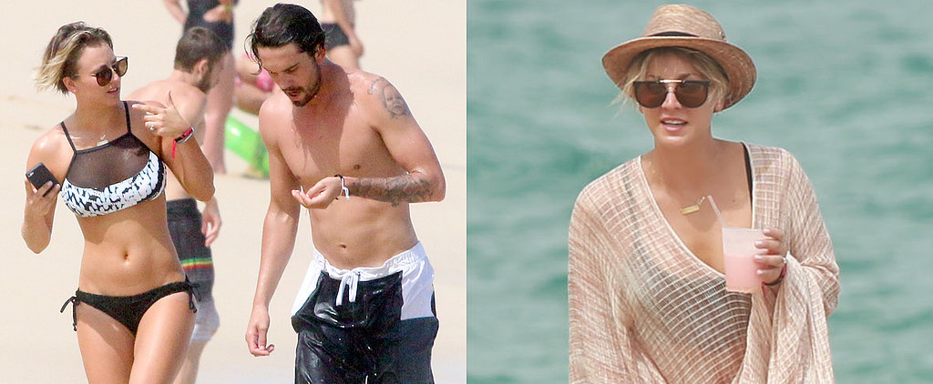 Kaley Cuoco Flaunts Her Bikini Body South of the Border