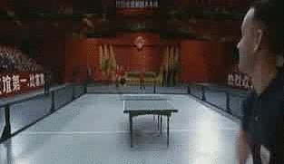 When Forrest Dominates at Ping-Pong