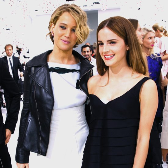 Could It Be? Katniss and Hermione Join Forces at a Fashion Show