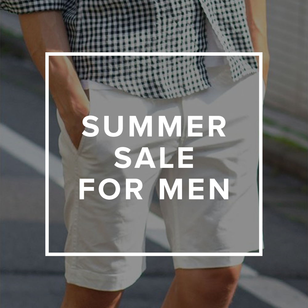 Summer SALE 2014 セールで買う!メンズアイテム