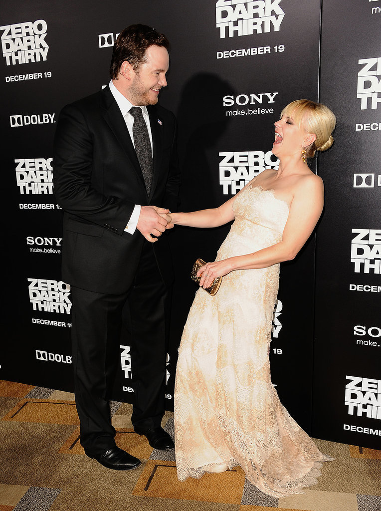 Anna Faris and Chris Pratt Are Anything but Boring on t