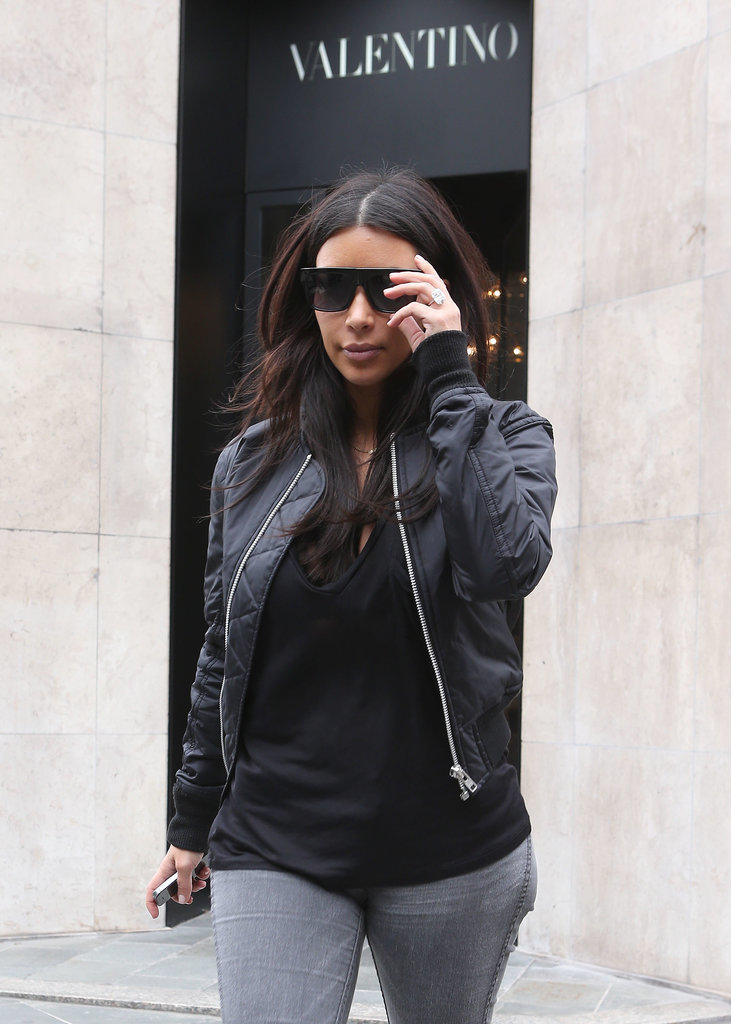 Kim Kardashian Reunites With Kendall Jenner in Paris