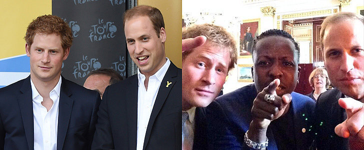 Prince William and Prince Harry Just Made Royal History