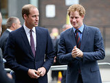 Prince William and Prince Harry attended the BITC Responsible Business Awards Gala in London on Tuesday.