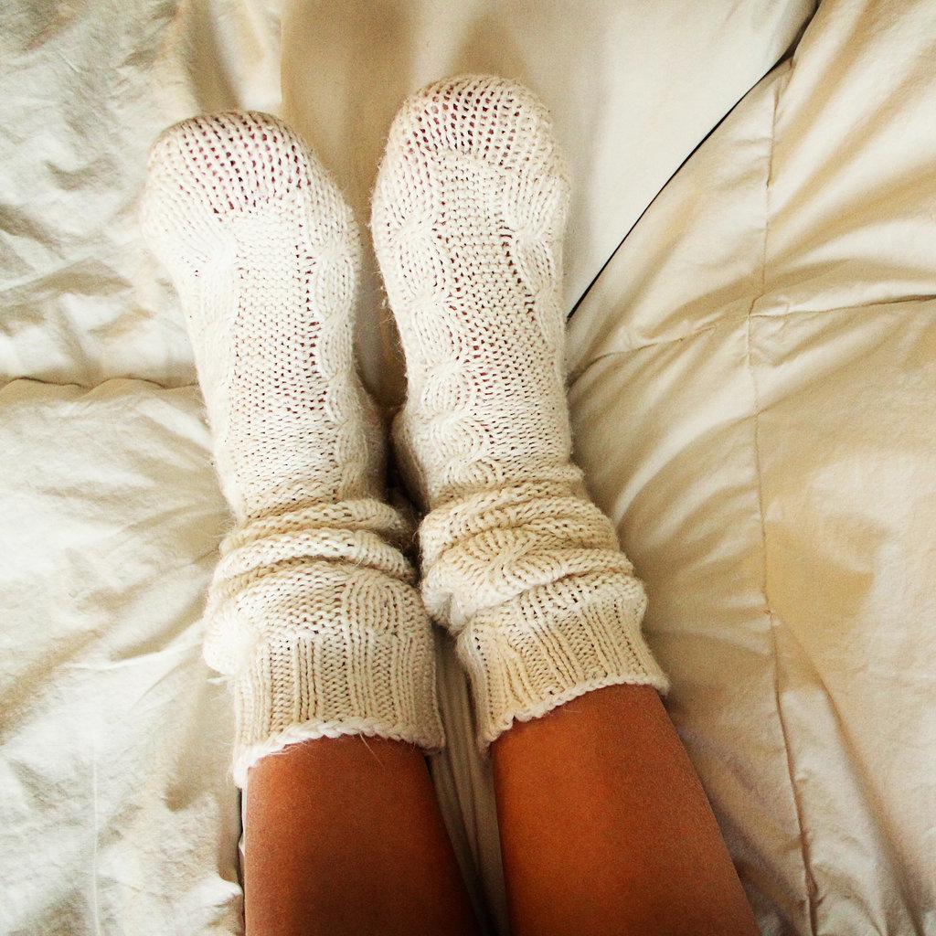 Фото ног в носочках 7 фотография