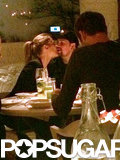 Cameron and Benji Have Nicole Richie to Thank For This PDA-Filled Dinner Date