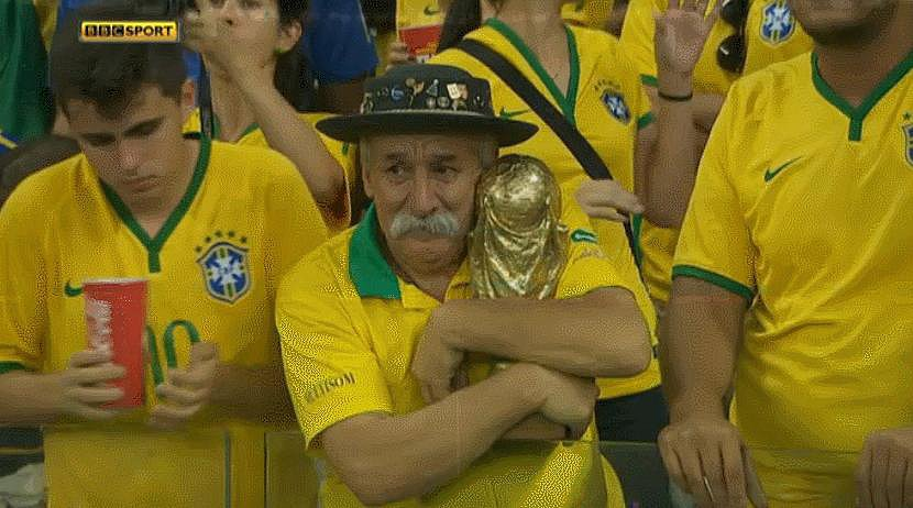 Those Utterly Inconsolable Brazil Fans