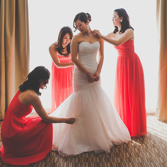 Modern Korean Wedding in Canada