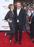 Cameron Diaz and Jason Segel premiered Sex Tape in LA on Thursday night.