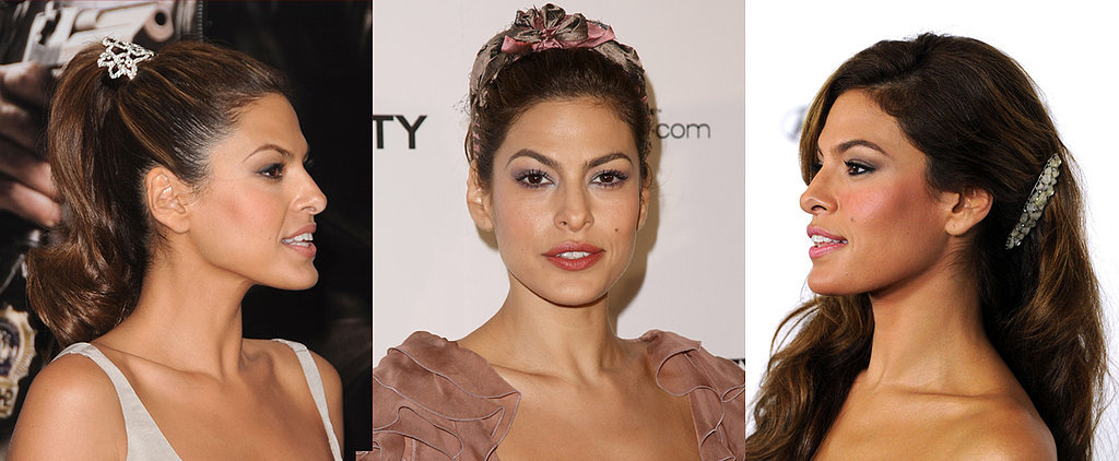 New Mom Eva Mendes Never Met a Headband She Didn't Love