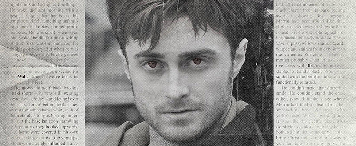 Daniel Radcliffe Sprouts Horns For His Mysterious New Film