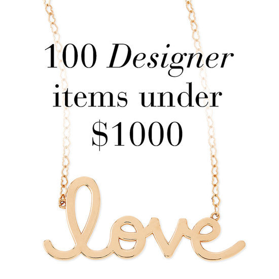 100 designer items under $1000