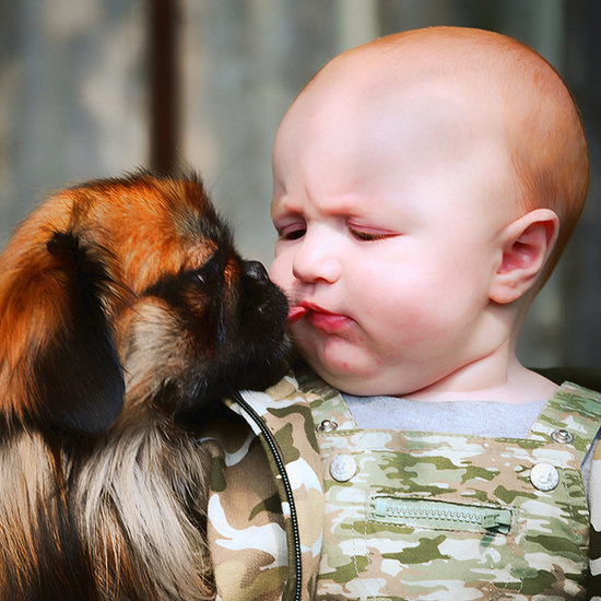 Babies + Puppies = A Whole Lot of Cuteness