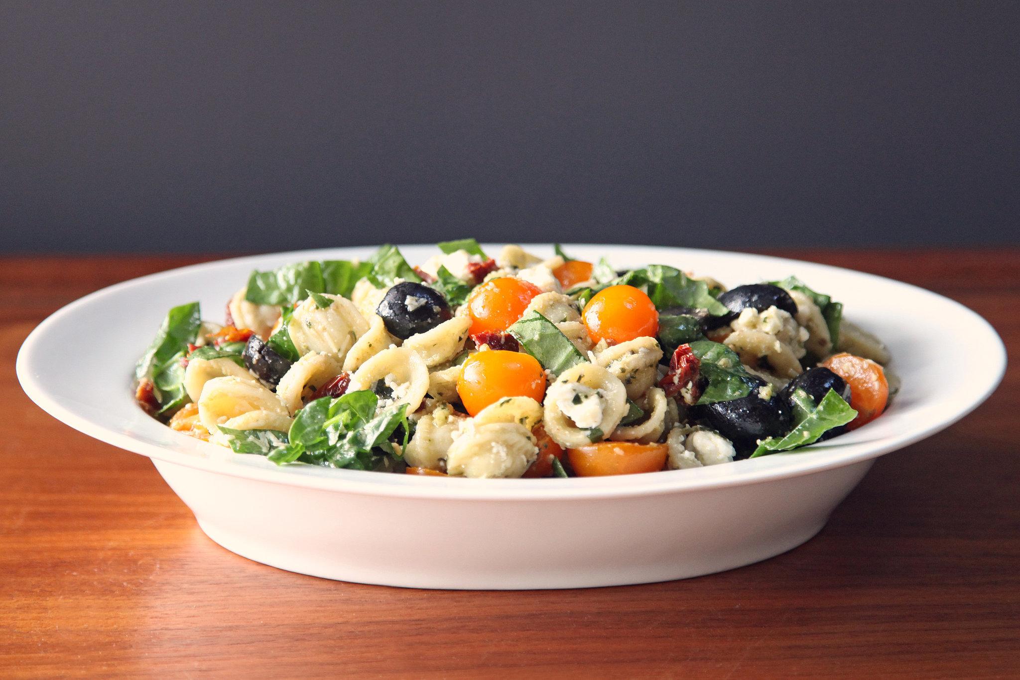 Pesto Pasta Salad Recipe | POPSUGAR Food