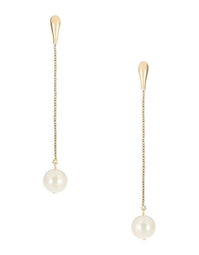 Robert Rose Pearl Drop Earrings