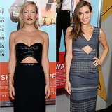 Kate Hudson and Allison WIlliams Wearing Cut-Out Dresses