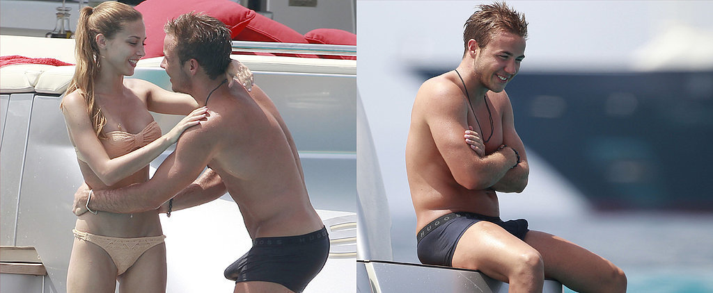 Mario Götze's Bulge Might Be Bigger Than His World Cup Win