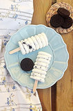 Oreo Cheesecake Popciscles