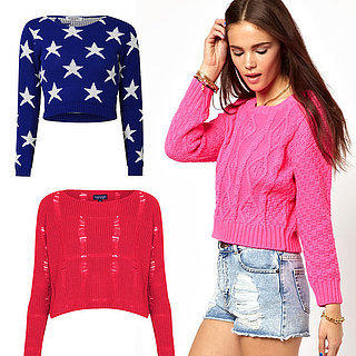 Editor's Picks Try a Cropped Knit!