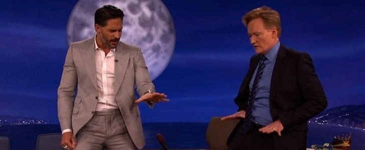 Joe Manganiello Schools Conan O'Brien in the Fine Art of Male Stripping