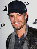 Josh Duhamel sported a baseball hat for a PlayStation event in LA in February 2012.