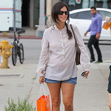 Pictures of Rachel Bilson Pregnant With Baby Bump July 2014