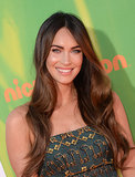 Megan Fox Lets Her Natural Beauty Shine With Gold Eye Shadow