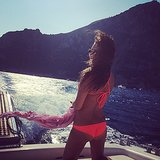 Live Vicariously Through Lea Michele's Stunning Vacation Snaps