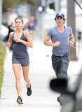 Nikki Reed and Ian Somerhalder went running together in LA on Saturday. They followed it up with sweet yet confusing moments at the farmers market on Sunday.