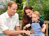 Prince George's 1st Birthday Photo Shoot