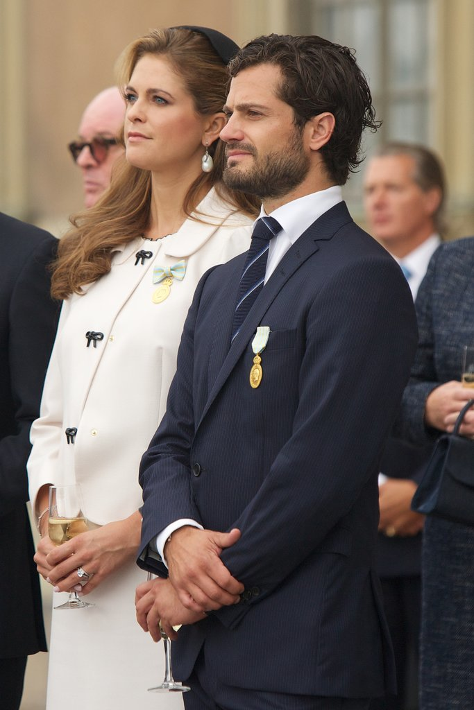 He and his sister, Princess Madeleine of Sweden, attended the City of Stockholm Celebrations for King Carl Gustaf's 40th Jubilee in September 2013.