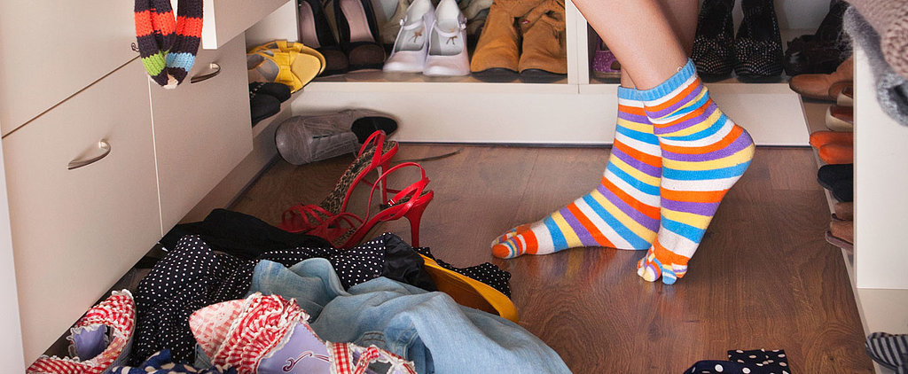 11 Signs That Your Closet Is Out of Control — and 6 Smart Solutions For Cleaning It Up