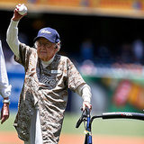 You Need to See This 105-Year-Old Woman Throw Out a First Pitch