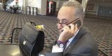 Look At Chuck Schumer's Ancient Phone