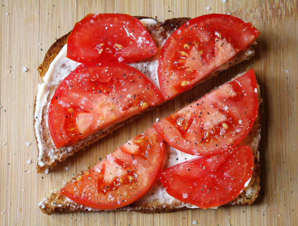 Tomato Mayonnaise Sandwich