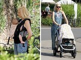 Steal Gwen Stefani's cool, chic baby-wearing style