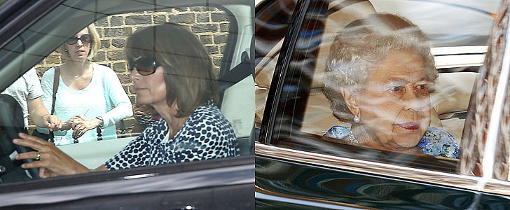 Guests Arrive For Prince George's Birthday Party!