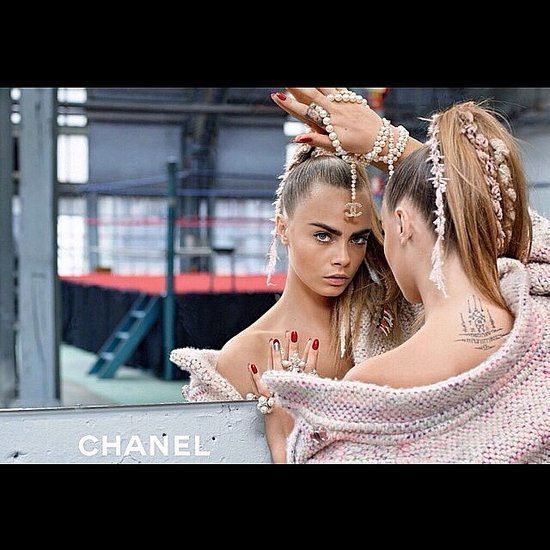 Cara Delevingne Karl Largerfeld Chanel Video 2014