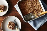 Peach Crumble Coffee Cake: A Vegan Dessert for Summer