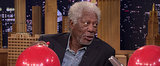 Morgan Freeman Getting Interviewed While on Helium Changes Everything
