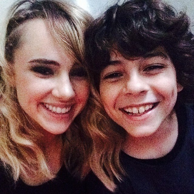 Suki Waterhouse (Marlene) and Emjay Anthony (Hec