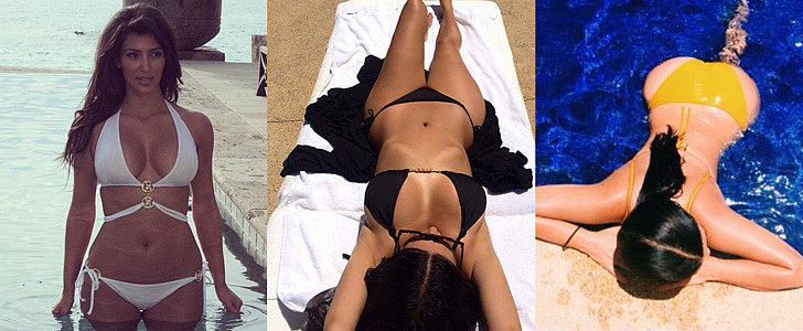 Kim Kardashian Is the Queen of Sexy Swimsuit Snaps